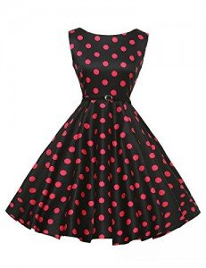 GRACE-KARIN-Sleeveless-Cotton-Rockabilly-Tea-Dress-with-Belt-VL6086-Multi-Colored-0