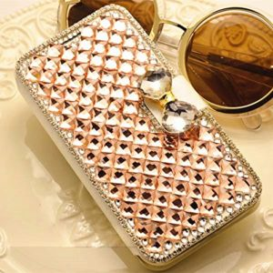 Luxury-3D-Fashion-Bling-Diamond-Bow-Bone-PU-Flip-Wallet-Leather-Case-Cover-For-Smart-Mobile-Phones-0