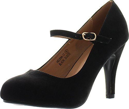 Bella Marie Helena-13 Mary Jane Stiletto Pumps