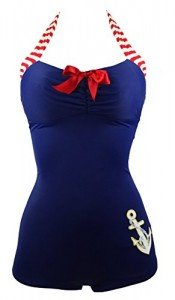 Cocoship-50s-Retro-Navy-Blue-Nautical-One-Piece-Maillot-Anchors-Away-SwimsuitFBA-0