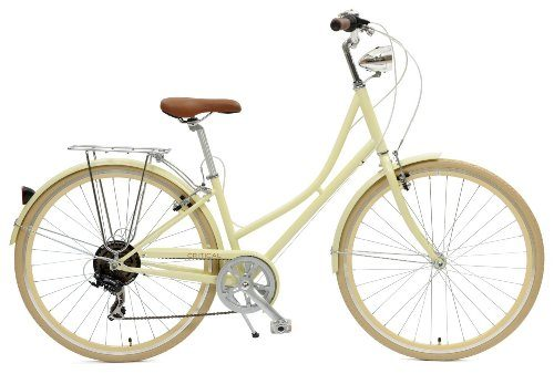 Critical Cycles Dutch Style Step-Thru 7-Speed Shimano Hybrid Urban Commuter Road Bicycle