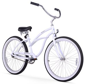 Firmstrong-Urban-Lady-Alloy-Single-Speed-Beach-Cruiser-Bicycle-26-Inch-White-0