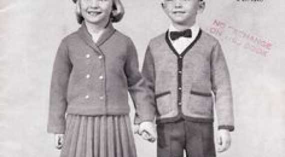 Teen and Children Clothing in 1950s