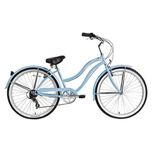 Micargi-Pantera-Shimano-7-Speed-26-Womens-Beach-Cruiser-Bicycle-Bike-Steel-Frame-0