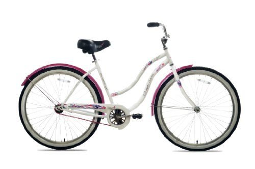 Susan G Komen Single Speed Beach Cruiser Bike, 26-Inch