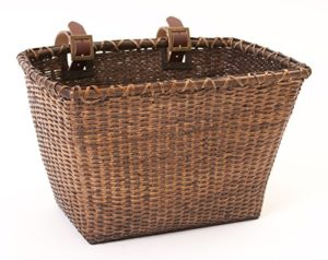 Retrospec-Bicycles-Cane-Woven-Rectangular-Toto-Basket-with-Authentic-Leather-Straps-and-Brass-Buckles-0