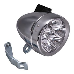 TTnight-Retro-Vintage-Bicycle-Bike-7-LED-Front-Light-cycling-Headlamp-headlight-with-Bracket-Silver-0