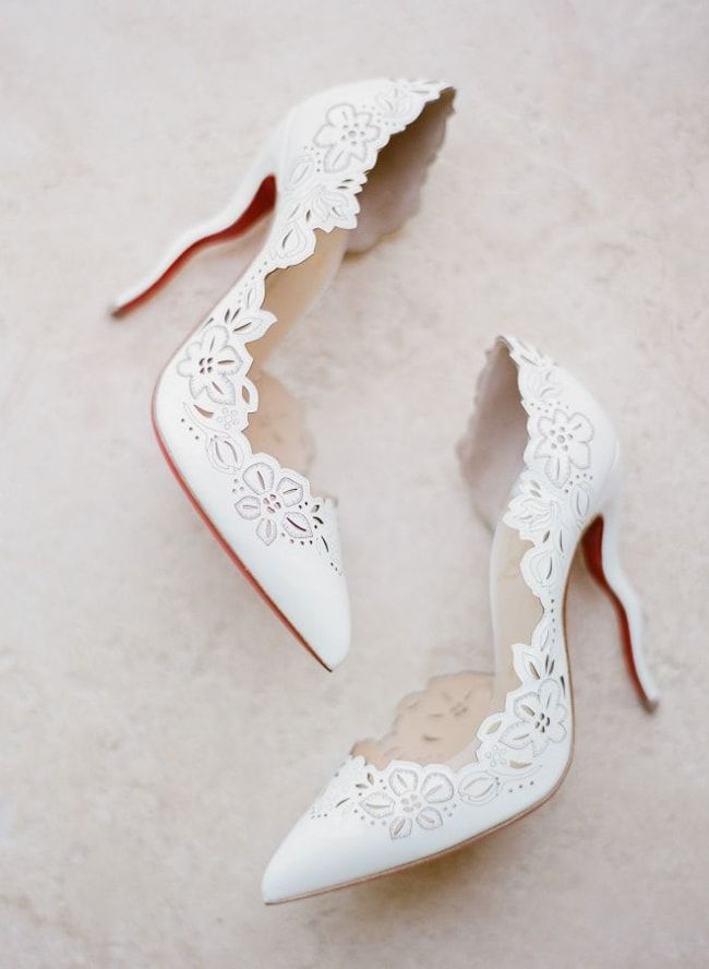 Vintage Wedding Shoes for Bride Over Times
