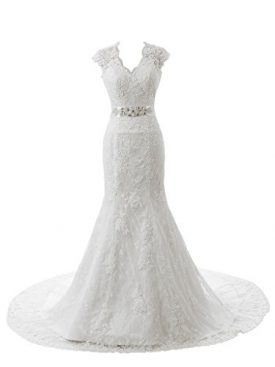 18d7a14f6bdf Ubridal Real Pictures Embroidery Lace Mermaid Court Wedding Dresses Bridal  Gowns