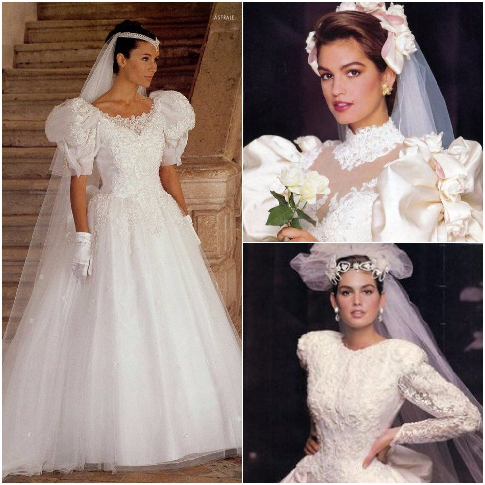 Vintage Wedding Dresses 80s: Vintage-inspired-wedding-dresses-80s