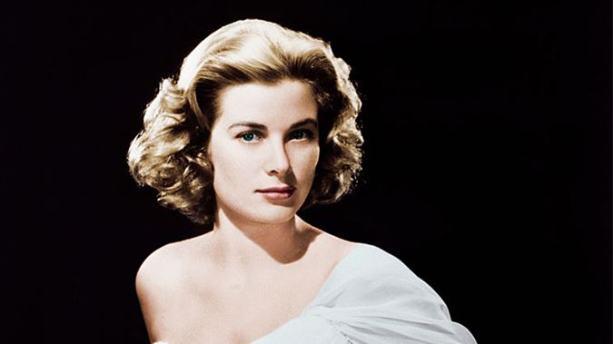 Grace Kelly Color Image