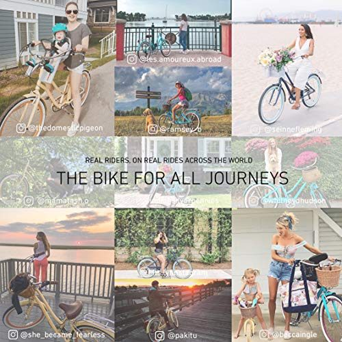 sixthreezero EVRYjourney Women's Step-Though Hybrid Cruiser Bicycle or eBike, 24-inch and 26-inch
