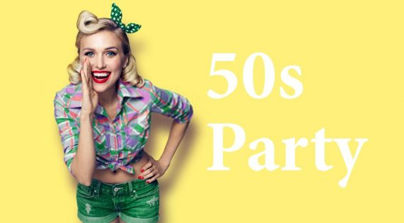 How to Dress for a 1950s Party